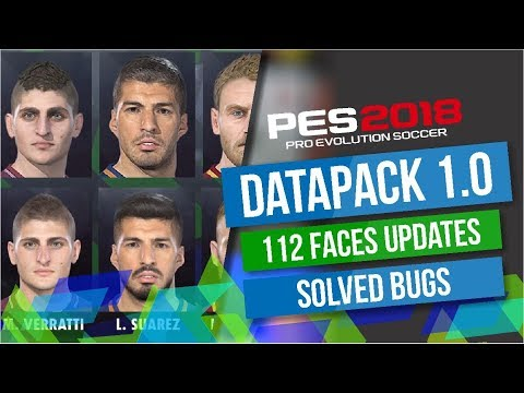 DATA PACK 1.0 / PES 2018 - PC