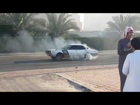 Car Stunts And Burnout in Kuwait  4K Video