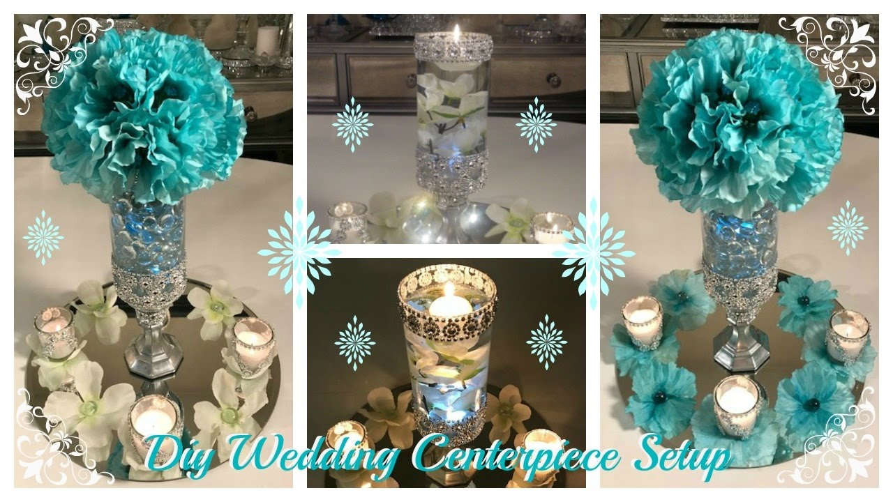 DOLLAR TREE DIY  WEDDING CENTERPIECE IDEAS  WEDDING SERIES PART 3 GIVEAWAY CLOSED  YouTube