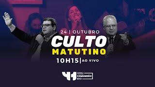 Culto Matutino AO VIVO - Domingo 24/10/2021 - IPVO Maringá