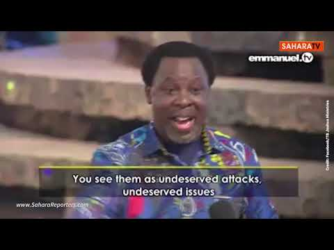 Download Prophet TB Joshua's Last Outing Before His Sudden Death