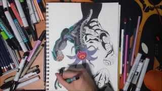 Drawing Bongo Bongo from The Legend of Zelda: Ocarina of Time