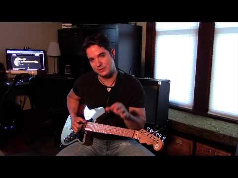 Gil Parris Faux Slide Lesson on Signature 2 Guitar !