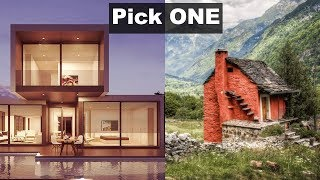 What Dream House Suits You Best, Personality Test