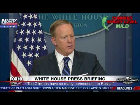 Sean Spicer: No One Questioned Hillary Clinton On Her Russia Connections (FNN)