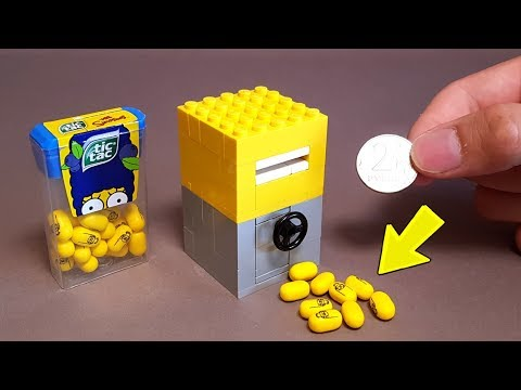 How To Make LEGO Candy Machine With Safe