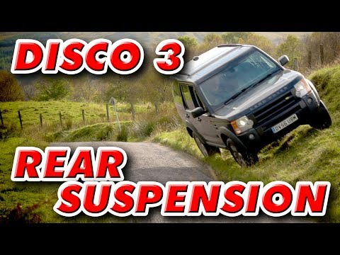 Replacing Rear Suspension Arms and Polybushes - Land Rover Discovery 3