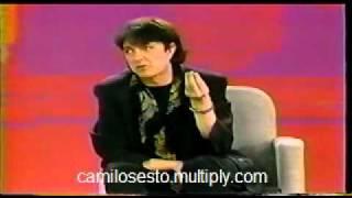 Camilo Sesto pone las cosas en su lugar