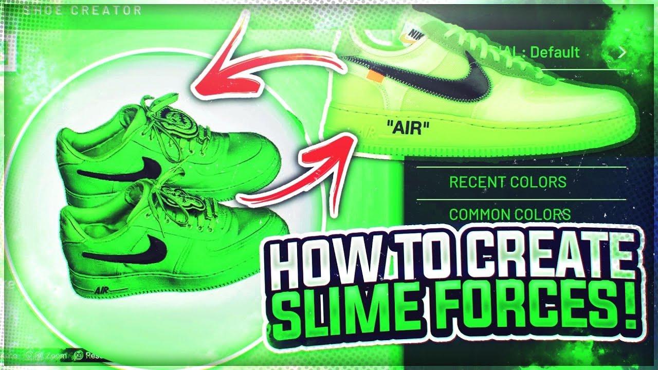 Slime green AF1 best custom air forces