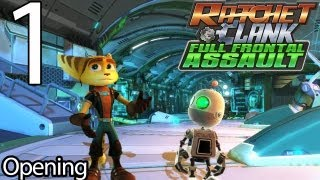 Ratchet & Clank: Full Frontal Assault - Part 1 - Opening