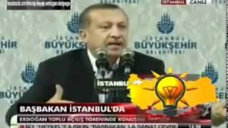 Başbakan Erdoğan'ın Galatasaray TT Arena'daki protestolara cevabı   16 01 2011