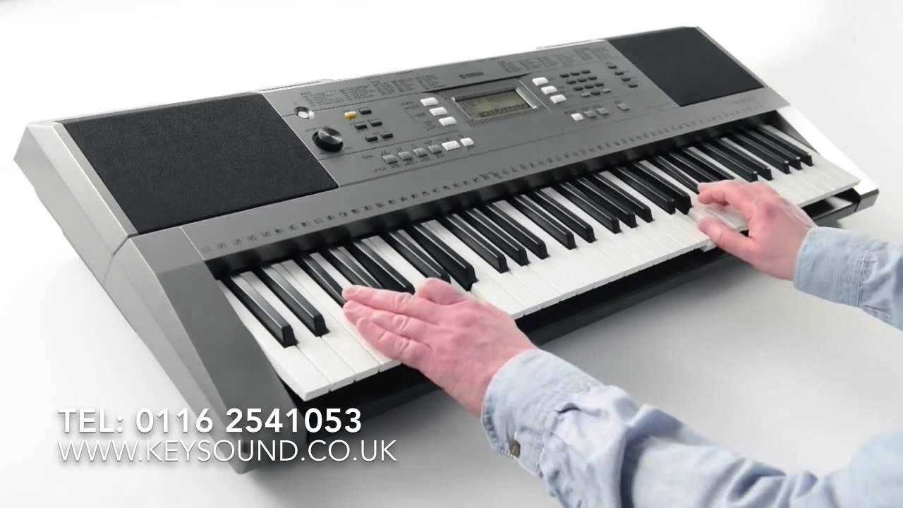 yamaha psr e353 keyboard demo youtube. Black Bedroom Furniture Sets. Home Design Ideas