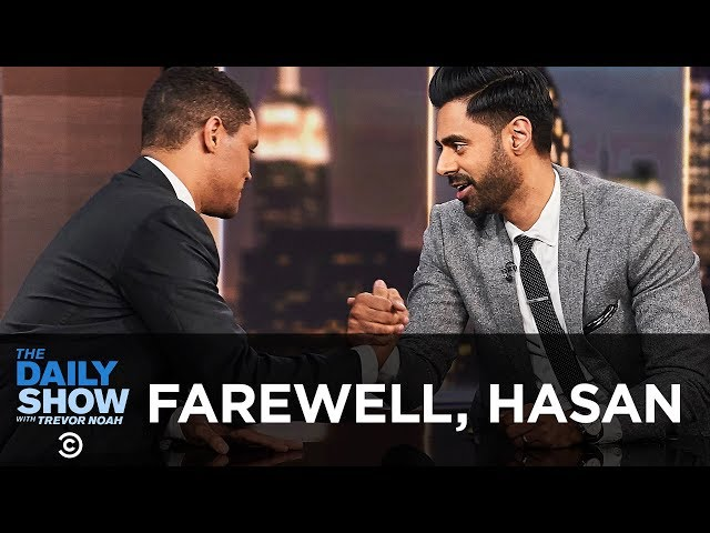 Hasan Minhaj Says Goodbye to The Daily Show | The Daily Show