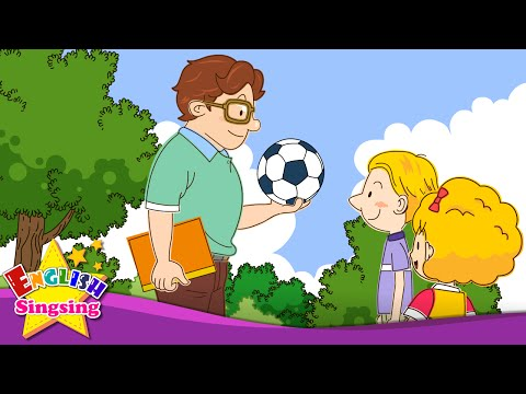 Let's play soccer. I like soccer. (Suggestion/Sports) - English Education Rap - Song with lyrics