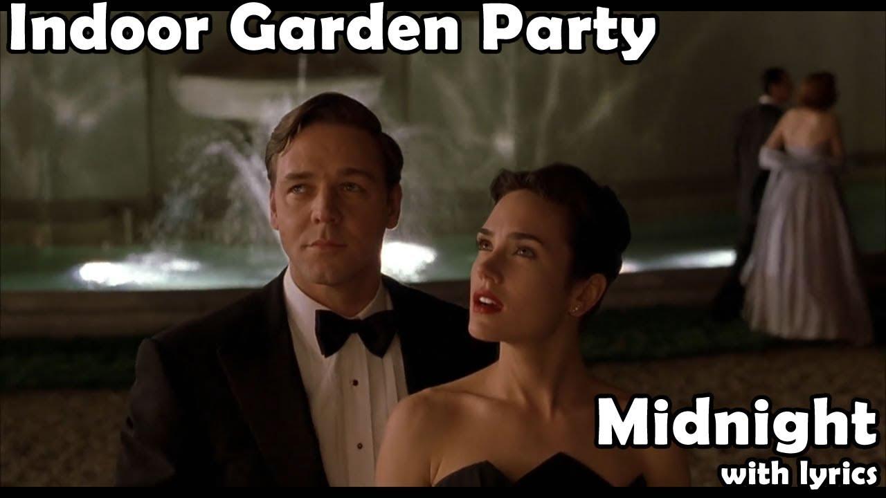 Midnight (with lyrics) - Indoor Garden Party - YouTube
