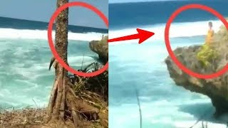 Merinding !! Sesosok Penari di Laut Selatan Tertangkap Kamera