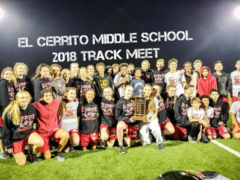 El Cerrito Middle School 2018 Track Meet