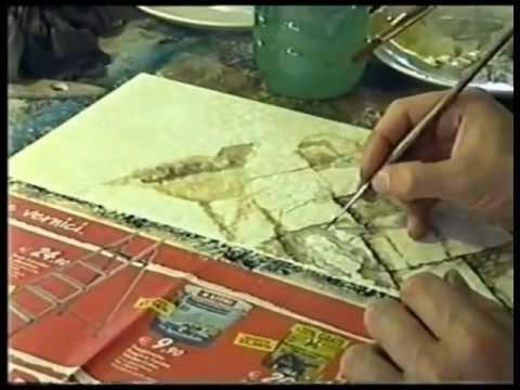 Video corso di tecniche di decorazioni murali silla for Decorazioni murali
