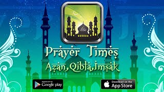 Prayer Times: Azan, Qibla, Imsak | Android & iOS App | AppSourceHub screenshot 1