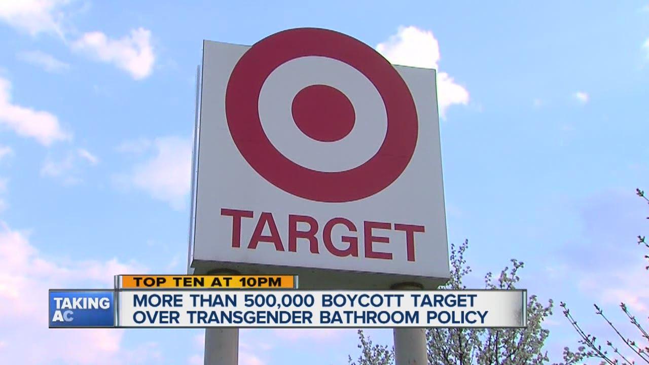 Target Boycott Over Transgender Bathroom Policy YouTube - Target bathroom policy