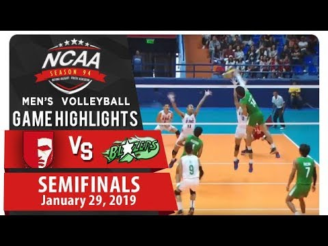 NCAA 94 Men's Volleyball Semifinals: EAC vs. CSB | Game Highlights | January 29, 2019