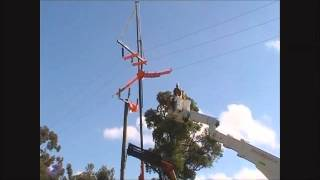 Perth Power Lines - Multi Crane Vehicle Demonstration