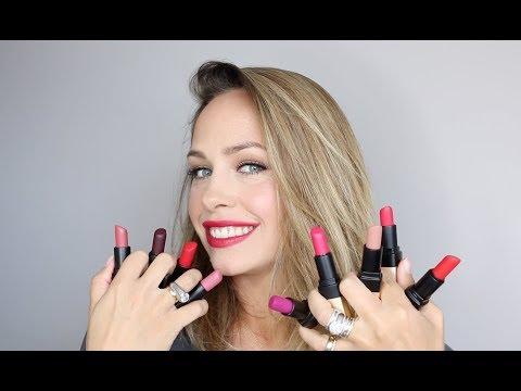 NEW Bobbi Brown Luxe Matte Lip Colour Swatch