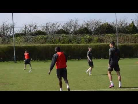 Watford FC Training Pre Leicester (April 25)