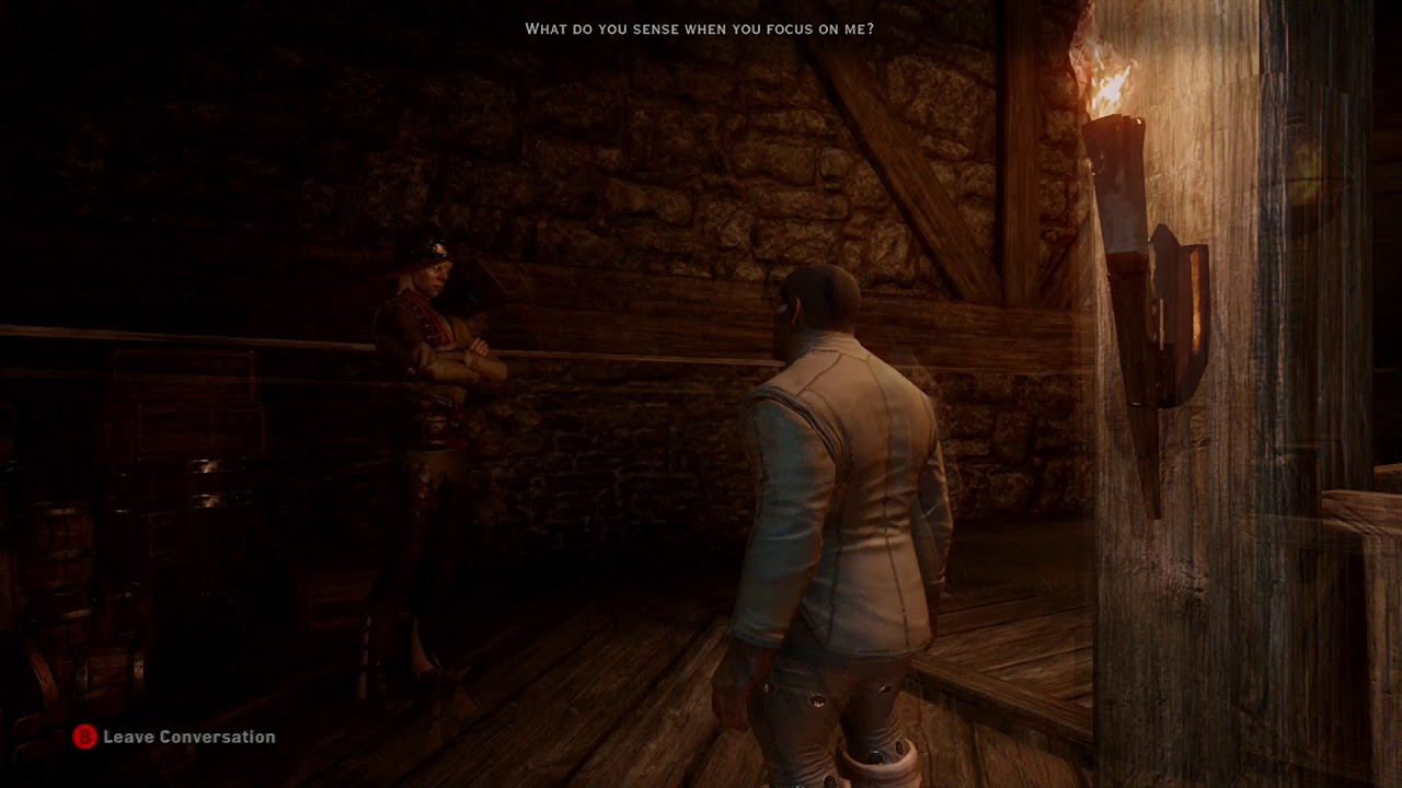 Dragon Age Inquisition: What Cole senses from the Inquisitor (Races + MageClass)