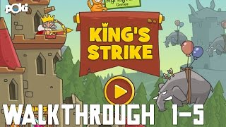 King Under Fire! King's Strike Poki Walkthrough, Levels 1 - 5