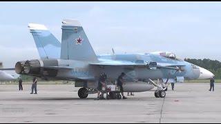 Провокация! США перекрашивают F-18 под Российские Су-34 в Сирии