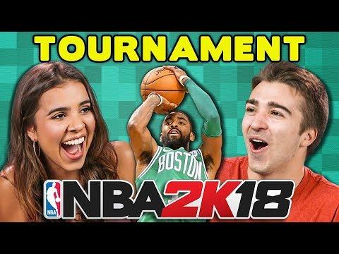 NBA 2K18 BASKETBALL TOURNAMENT (React: Gaming)