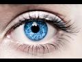 про голубые глаза девушки