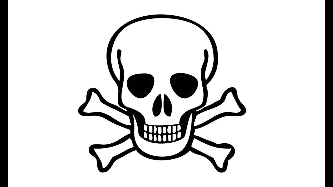 Wie Zeichnet Man Ein Piratenschadel Skelett Youtube