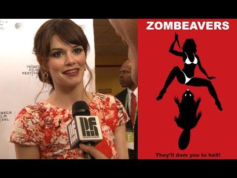 Rachel Melvin at Zombeavers Tribeca Film Festival Premiere PFM