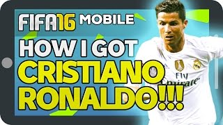 FIFA 16 iOS/ANDROID - HOW I GOT CRISTIANO RONALDO!!! | HOW TO PLAYER EXCHANGE
