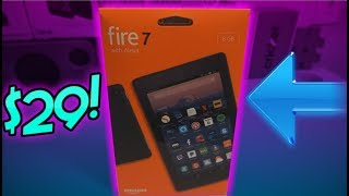 $29 New Amazon Fire 7 Tablet