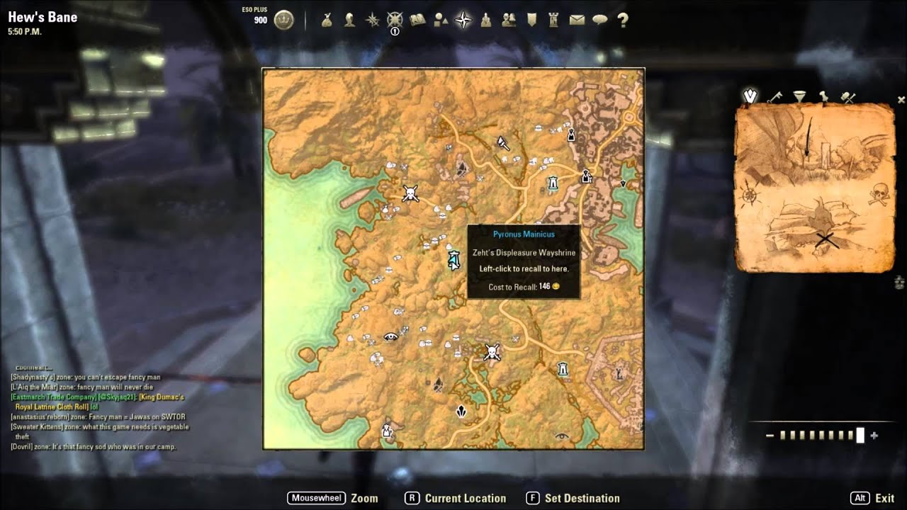 Hew s Bane Treasure Map 2   YouTube