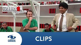 Impresionante duelo entre Faustino y René Higuita - La Selección, La serie