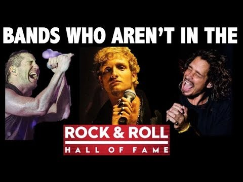 Rock N' Roll Hall of Fame Disses: Bands Who Should Be in the Rock N' Roll Hall of Fame 2018!