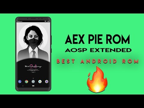 Download Install Aosp Extended 6 1 Pie In Redmi Note 5 Pro