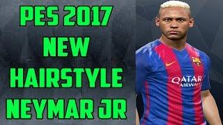 PES 2017 - New HairStyle Neymar Jr HD - by Bruno Wygno