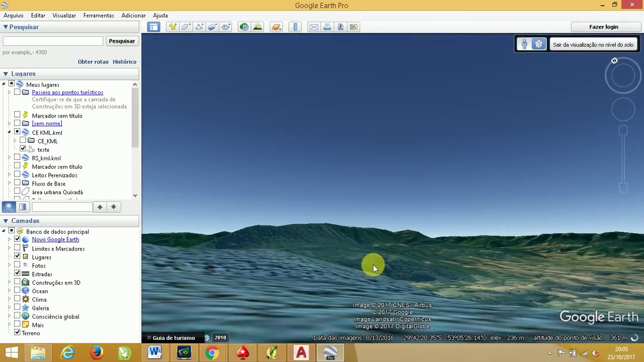 terreno 3d da google earth