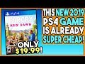 THIS NEW 2019 PS4 GAME IS ALREADY SUPER CHEAP!