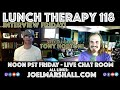Tony Horton of P90X Fame is the Guest on Interview Friday - Lunch Therapy 118