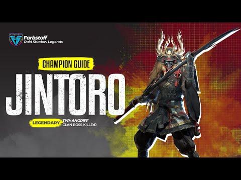 Raid: Shadow Legends - Champion Guide - Jintoro - CB Killer