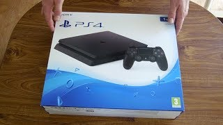 Playstation 4 1TB Slim Edition Unboxing