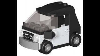 Инструкция по сборке машинки Эммета из LEGO