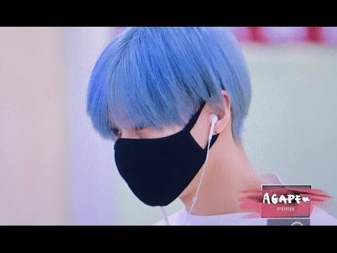 170513 blue hair shinee taemin