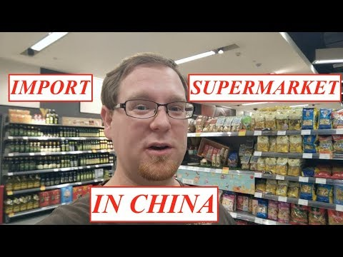 High-End IMPORT SUPERMARKETS in China | Shopping for Imported Goods in Chengdu